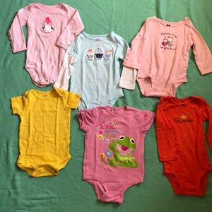 Girls 18 months Onesie Bundle